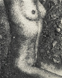 torso' (after františek drtikol, from pictures of soil) by vik muniz