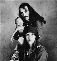 hippie family (kelley), san francisco by irving penn