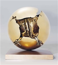 sfera con sfera by arnaldo pomodoro