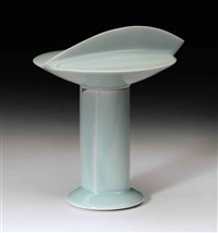 kaikei (seascape) incense burner by sueharu fukami