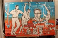 errol flynn (lors du match japon/usa en 1937) by laurent le pont