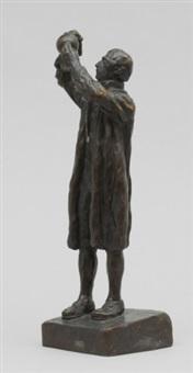 carl von scheele by carl (wilhelm emile) milles