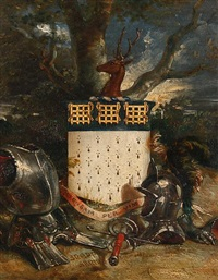 the snepp coat of arms by edward henry corbould