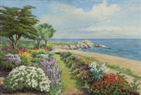 lover's point, pacific grove by william adam