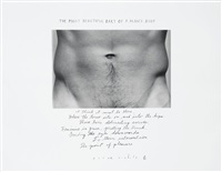 the most beautiful part of a man's body by duane michals