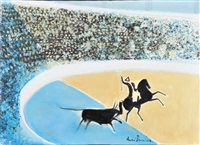 corrida portugaise by andré brasilier