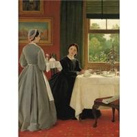 afternoon tea by george dunlop leslie