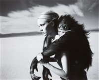 beauty and the beast, l'uomo vogue by michel comte