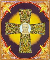 christ en croix by victor simon