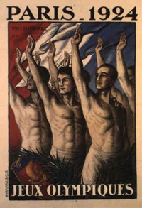 paris 1924/ jeux olympiques by jean droit