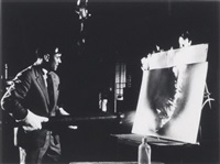 yves klein, february by harry shunk