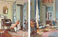 vues d'intérieur (2 works) by paul hughes
