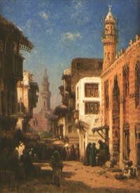 vue du caire by bernard fideler