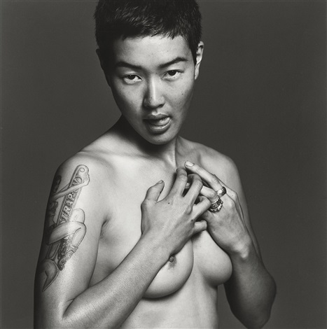 jenny shimizu from the series safer sex by michel comte