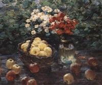 nature morte des pommes by viatcheslav nabatov