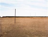 the sports field at hondeklipbaai by david goldblatt
