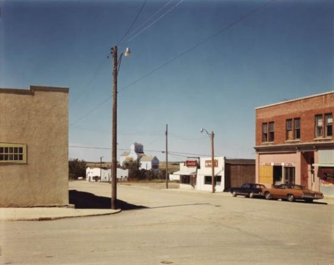 main st gull lake saskatchewan by stephen shore