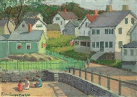 rockport beach, cape ann, massachusetts by emma fordyce macrae
