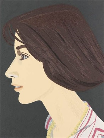 susan from an american portrait 1776 1976 by alex katz