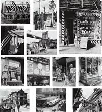 new york portfolio iii (12 works) by berenice abbott