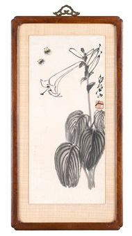 bees and lily by qi baishi