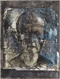 looking in the dark #13 by jim dine