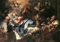 the death of the virgin by giovanni battista bagutti