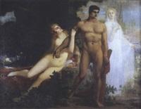 hercule entre le vice et la vertu by marius ernest joseph azema