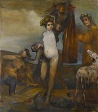 the bacchantes by ansel krut