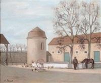la cour de ferme by henri jannot