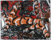 fourth of july tiger by thornton dial