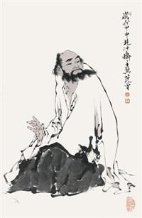 达摩 by fan zeng