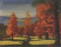 l'automne by pierre jouffroy