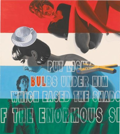 the enormous shelf by david salle