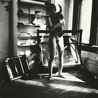untitled, providence, rhode island, relating to the series, a woman. a mirror. a woman is a mirror for a man by francesca woodman