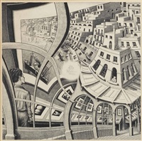 gallery of prints (prentententoonstelling) by m. c. escher