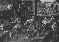 intérieur d'alchemiste by jan mandijn