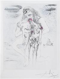 kronos (from mythologie series) by salvador dalí