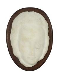 portrait bust of a woman by jules vermeire