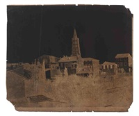 église saint-sernin, toulouse by gustave le gray and auguste mestral