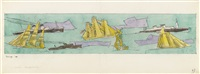 marine transportation by lyonel feininger