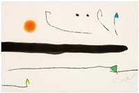 untitled (from le marteau sans maître) by joan miró