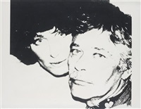john and lorraine chamberlain by andy warhol