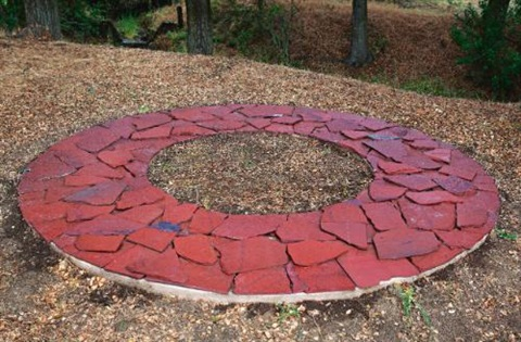 red fall ring by richard long