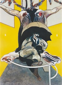 after second version of painting 1946 by francis bacon