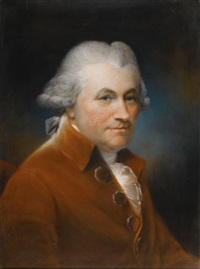 portrait of john johnson by john russell