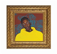 untitled (mugshot) by kehinde wiley