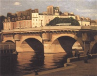 le pont neuf à paris by léon parent