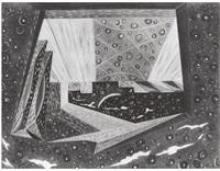 al chiaro di luna (iii scena teatrino futurista) by agibecifuturista