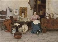 the antiques seller by cesare vianello